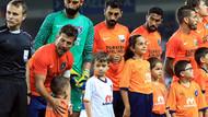 Medipol Başakşehir ile Club Brugge maçından renkli görüntüler
