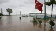 Marmara'dan şiddetli yağış manzaraları