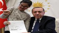 Erdoğan'ın resmini çizen Gülşah'tan üzen paylaşım