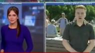 Canlı yayında muhabire yumruklu saldırı