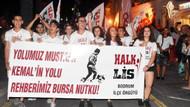 Tatilciler de katıldı: Bodrum'da 30 Ağustos Yürüyüşü