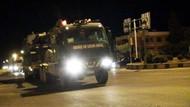 Kilis sınırına askeri araç sevkiyatı yapıldı