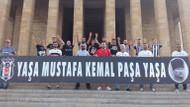 Yaşa Mustafa Kemal Paşa pankartı maça alınmadı! CHP'li vekiller isyan etti
