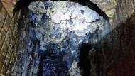 130 tonluk pislik taşlaşıp kanalizasyonu tıkadı