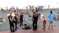 Zonguldak'ta plajda bira içen kadınlara gözaltı