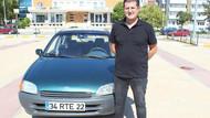 RTE plakalı 1999 model aracını 350 bin liradan satışa çıkardı