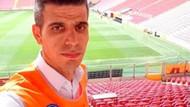 Türk Telekom Stadı görevlisini işinden eden selfie