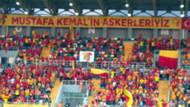 Göztepe - Gençlerbirliği maçında skandal: O pankart indirildi