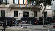 Barcelona'dan polis baskınına kınama Katalan halkına destek
