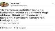 Türkiye güzeli Itır Esen'den skandal 15 Temmuz tweeti