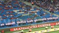 Trabzonspor maçında Reis Sedat Peker yazılı tişörtler giydiler