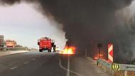 Bursa'da boya yüklü kamyon faciası: 2 kişi yanarak öldü