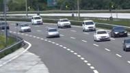 TEM otoyolu Bolu Ankara istikameti 1 ay trafiğe kapalı