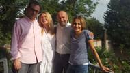 Kadri Gürsel'in eşi tahliyenin ardından bu fotoğrafı paylaştı: 11 ay sonra evimizde...
