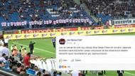 Tişörtlerle Sedat Peker koreografisi yapan tribün lideri maçlara giremeyecek