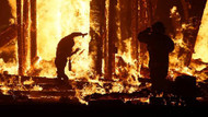 Burning Man festivalinde şok, yanarak can verdi