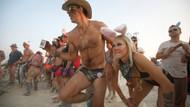 Burning Man festivali nedir? Festivalden ortaya çıkan ilginç fotoğraflar...