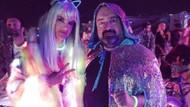 Nevzat Aydın ünlü mankenle Burning Man festivalinde