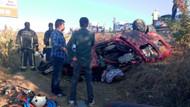 Bursa-Ankara kara yolunda trafik kazası: 1'i çocuk 7 kişi hayatını kaybetti
