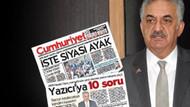 Cumhuriyet'in Hayati Yazıcı haberlerine erişim engeli!