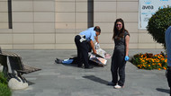AVM'den düşen kadın hayatını kaybetti