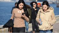 İzmirliler Kordon'da güneşin tadını çıkardı