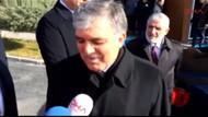 Abdullah Gül o soruyu duyunca arabasına binip gitti