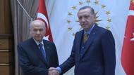 Erdoğan ve Bahçeli'den 27 dakikalık tarihi görüşme