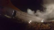 Faciaya 25 metre kala kurtulan yolcular: Kurtulmamız mucize