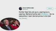 Erdoğan CHP'yi Canan Kaftancıoğlu'nun tweetleriyle vurdu