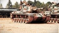 Sınırda hareketlilik! TSK'nın 10 tankı Afrin'in karşısına konuşlandırıldı