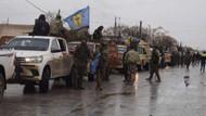 Afrin'e yardım için geldiler! İşte terör konvoyu