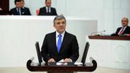Meclis'te Abdullah Gül anonsu şaşkınlığı