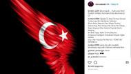 Ünlülerden Zeytin Dalı Harekatı'na destek mesajları yağdı