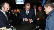 Erdoğan çok özlemişim dedi ve hesabı ödedi