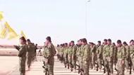 YPG kampındaki Amerikan askerlerinin görüntüsü