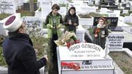 Ferdi Özbeğen ölümünün 5. yılında mezarı başında anıldı