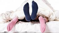 Cinsel ilişki sırasında çorap giyen kadınlardan güzel haber