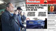 Kardak hüsranı Yunanistan'da olay oldu