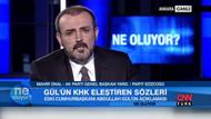 Mahir Ünal: Abdullah Gül, AK Parti'nin kurucularından değildir