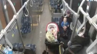 Kahraman otobüs şoförü bebeğin hayatını kurtardı