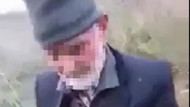 Yaşlı adamın boş arazide köpeğe tecavüz ettiği görüntülere tepki yağıyor