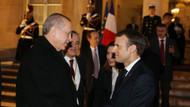Erdoğan Macron'la görüşmesinin ardından Elysee Sarayı'ndan ayrıldı