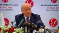 Bahçeli: MHP 2019 seçiminde Erdoğan'ı destekleyecek