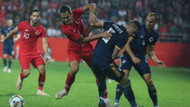Milli takım gol bulamasa da umut verdi
