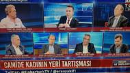 Habertürk TV'de tepki çeken görüntü: Kadının adı var kendisi yok