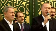 Erdoğan, Hulusi Akar Camii açılışında konuştu
