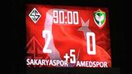Amedspor'dan Sakaryaspor maçıyla ilgili suç duyurusu