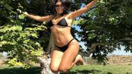 Kourtney Kardashian Kim'e nispet yapıyor!