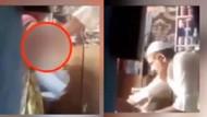 İğrenç görüntü! Sakallı ve takkeli bakkal kız çocuğunu böyle istismar etti!
